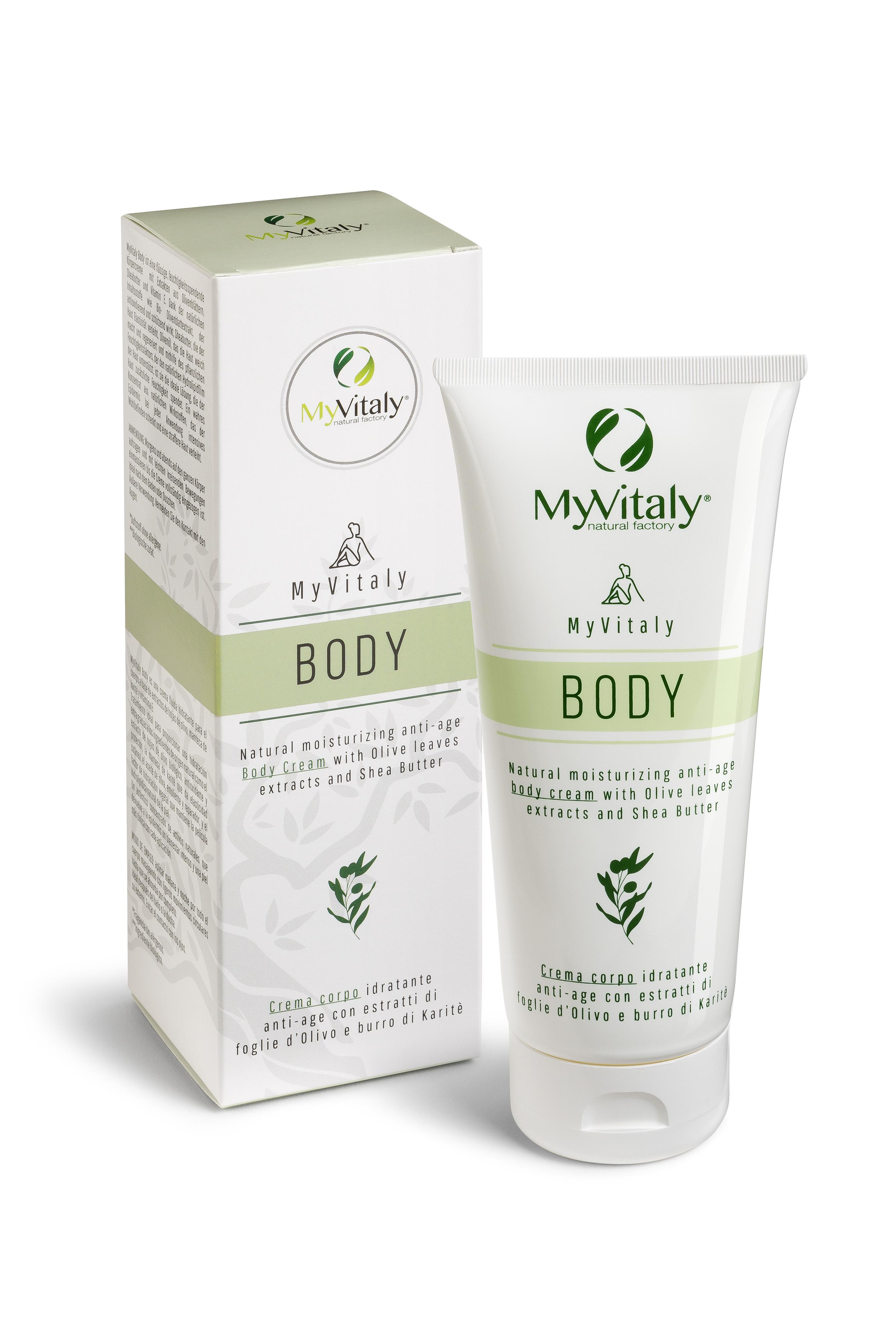 MyVitaly Body crema corpo all'olivo