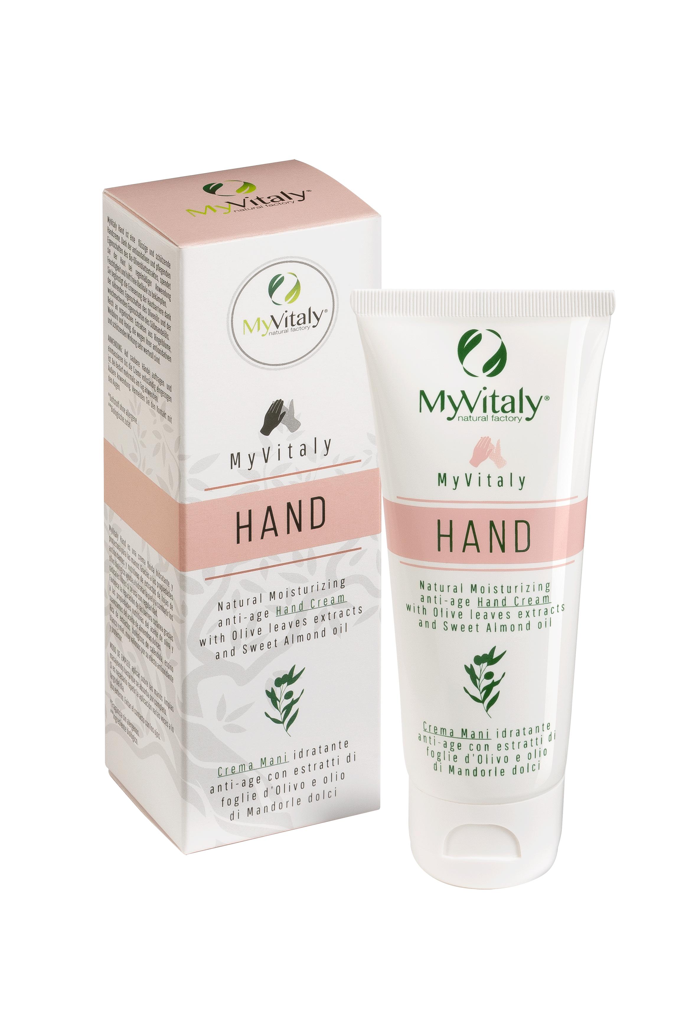 MyVitaly hand crema mani bio
